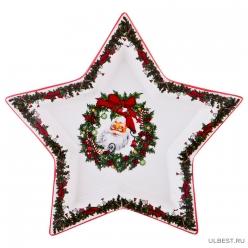 """Набор из 2-х блюд для сервировки стола Lefard """"Рождественское чудо"""" 22*27 см 116-511"""