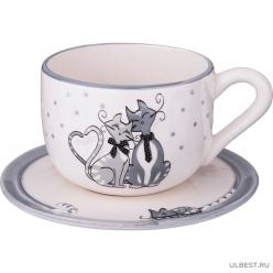 Чайная пара Lefard Ля Мур 490-282 1 персона