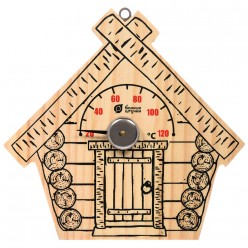 Термометр Парилочка 17*16 см для бани и сауны Банные штучки 18044