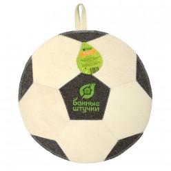 Коврик для сауны Футбольный мяч Банные штучки войлок 100% 40140