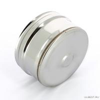 Заглушка внешняя д/трубы Ferrum (430/0,5 мм) 80 (нижняя)