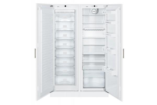 Холодильник Side-by-Side встраиваемый Liebherr SBS 70I2-21 001 (состоит из SIGN 3524-21 001 и IK 3520-21 001) фото