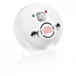 Отпугиватель комаров и слепней, ультразвуковой,220В 10х10х4,5см/20 HELP 80404