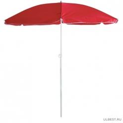 Зонт пляжный BU-69 диаметр 165 см, складная штанга 190 см, с наклоном арт.999369