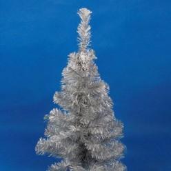 Ель декоративная искусственная 1,0м. белая сереб. арт. 0610б