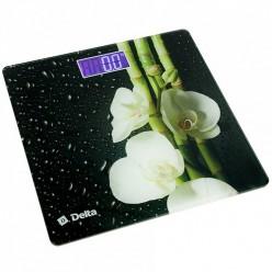 Весы напольные электронные DELTA D-9219 Цветущий бамбук (6): 150 кг, , LCD дисплей, Ф-ия запомина