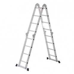 Лестница алюминиевая-трансформер 2*7