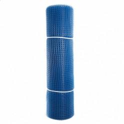 Садовая сетка квадратная 15х15 (1,0х20) ПРОФИ синий