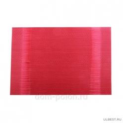 Плейсмат 30х45см ПВХ красный 4615-7