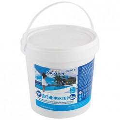 Дезинфектор МСХ (медленный стаб. хлор) в таблетках по 20г., 0,9 кг арт.005579