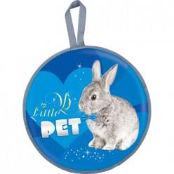 Ледянка игрушка с рисунком (ЛР45/КР2 рисунок с кроликом)