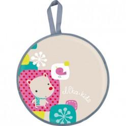 Ледянка игрушка с рисунком (ЛР45/М2 рисунок с медвежонком)