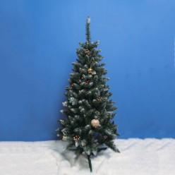 Елка искусственная Елизавета заснеженная с шишкой 1,8м, арт.Елснш-180