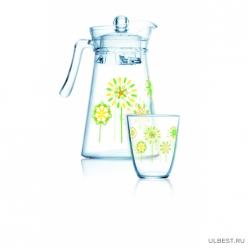 Набор питьевой 7 предметов КОТТОН ФЛАУЭР арт.Q4105