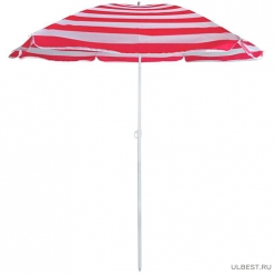 Зонт пляжный BU-68 диаметр 175 см, складная штанга 205 см арт.999368