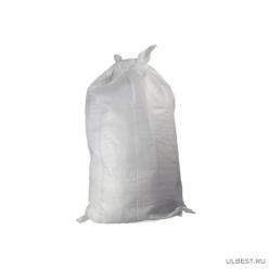 Мешок полипропиленовый 55х95 см, объем 40л, цвет белый г. МОСКВА упак.100 шт