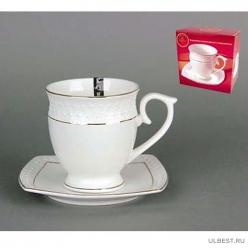 Пара чайная высокая 340мл ф.круг.п/уп СS554409-A снежная королева /з