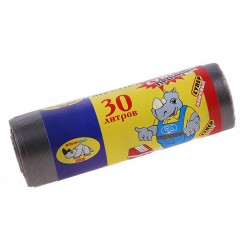 Мешки для мусора ОСОБО ПРОЧНЫЕ 30л (20шт/упак) Мульти-Пласт 2000
