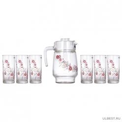 Набор питьевой ЖЮЛЬЕТ 7 предметов арт.N0825