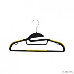 Вешалка плечики для верхней одежды, пластик, 42 см. арт.S-2846