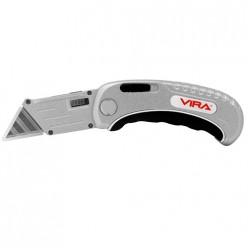 831111 Нож универсальный складной с выдвижным лезвием VIRA RAGE