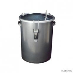 Коптильня горячего копчения ЧУДО КНГ-13 горячего копчения (14л, черный металл) г.Челябинск