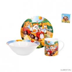 Набор посуды 1/3 Медвежата TSET3TB