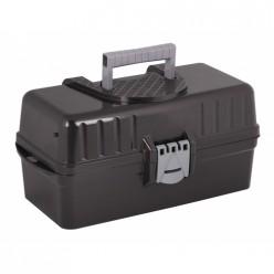 Ящик 425х224х200мм раздвижной (черный) (уп.4) М5748