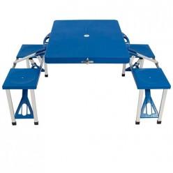 Стол складной со скамейками в чемодане TD-12 арт.993085