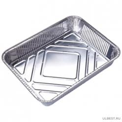 Форма для выпечки одноразовая из алюм фольги Lamina, прямоуг, 22,5*17,7*4,5 см_уп.50 шт арт.006046