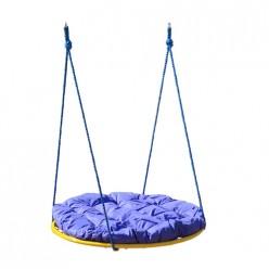 Качели детские Гнездо 600мм с подушкой (красная, оранжевая, синяя)