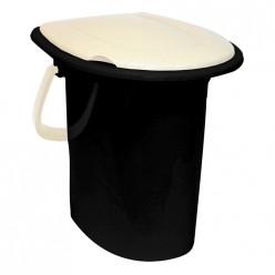Ведро-туалет 16л ротанг М2459