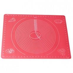 Коврик силиконовый 50*40 см для раскатки теста и выпечки (7787)