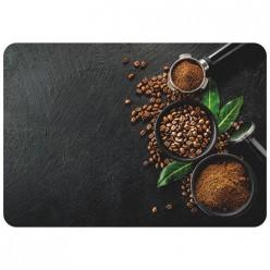 Салфетка сервировочная PPM-03 Кофе (40*28 см), пластик арт.312358