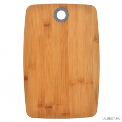 VETTA Гринвуд Доска разделочная бамбук, силикон, 30х20х1,0см (851-182)