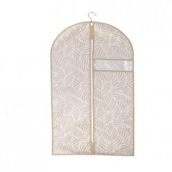 Чехол для одежды Листья, д1000 ш600, бежевый арт.UC-208
