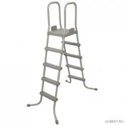 Лестница для бассейнов 132 см  Bestway 58337 арт.006225