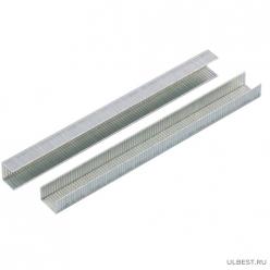Скобы, 12 мм, для мебельного степлера, усиленные, тип 140, 1250 шт.// GROSS арт.41742