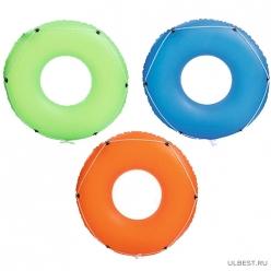 Круг для плавания со шнуром, 119 см, Bestway 36120 арт.004822