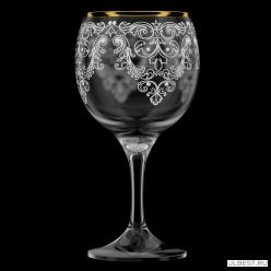 Фужер 260мл. 6шт. арт.1711-ГЗ (Византия) гравировка,отводка золотом