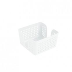 Салфетница Лофт 15 см квадратная (белый) 650006 Виолет