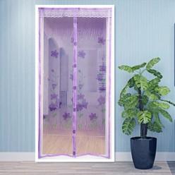 Дверная сетка антимоскитная на 7 магнитах, с рисунком, 100 х 210 см. арт.RA-8806