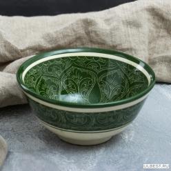Коса средняя 15,5 см зеленая арт.1923450 Узбекистан