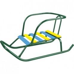 Санки дет.Ветерок 5 игрушка В5/З2 зеленый
