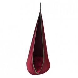 Качели детские подвесные Пуф арт.4765-МТ001 (красный)