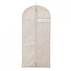 Чехол для одежды Листья, д1300 ш600, бежевый арт.UC-209