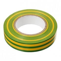 Изолента ПВХ 130 х 15 х 18 желто-зеленая Казань
