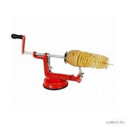 Прибор для нарезки картошки спиралью Spiral Potato. арт.MO-916