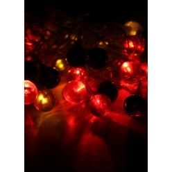 Гирлянда КОСМОС 30LED RubBALL2_RGB (шарики, мультиколор, 4,4м)