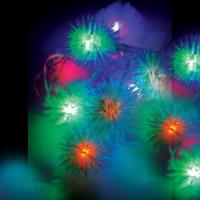 Гирлянда КОСМОС 30LED RubBALL1 (шарики, мультиколор, 4,4м, 8 режимов мигания)
